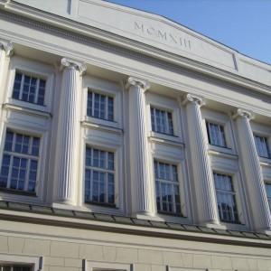 Budynek z kolumnami 1913