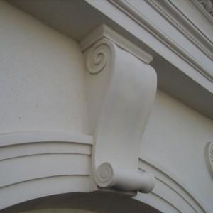 Zdobienie ścian w hotelu Saskim