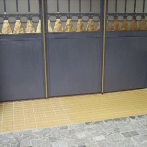 Czarno złota brama